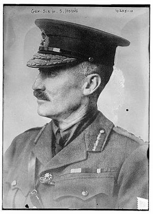 Henry Horne, 1st Baron Horne - Horne in 1917