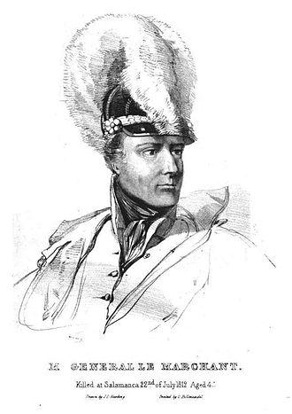 Battle of Villagarcia - General John Le Marchant (1766-1812)
