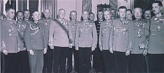 Royal Hungarian Army - Archduke Joseph August and the General Staff of the Royal Hungarian Army in 1944.