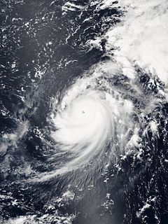 Hurricane Genevieve (2014) Category 3 Pacific hurricane and Category 5 typhoon in 2014
