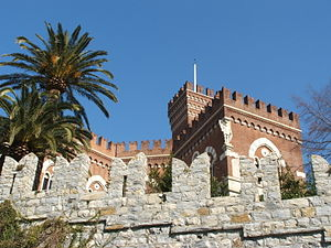 Albertis Castle - View of the Albertis Castle