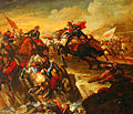 Georg Philipp Rugendas Figurenreiche Reiterschlacht zwischen den Österreichern und den Ungarn.JPG