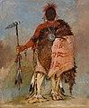George Catlin - Om-pah-tón-ga, Big Elk, a Famous Warrior - 1985.66.114 - Smithsonian American Art Museum.jpg