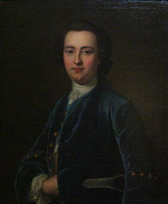 Horace Walpole - Portrait of George Montagu by John Giles Eccardt after Jean-Baptiste van Loo (c. 1713–1780) Peterborough Museum and Art Gallery A close friend and correspondent of Horace Walpole