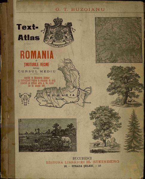 File:George T. Buzoianu - România și ținuturile vecine - Text-atlas pentru cursul mediu.pdf