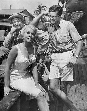 Gardner McKay - Image: George Tobias Julie Newmar Gardner Mc Kay Adventures in Paradise 1960