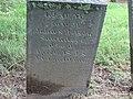 George W. Saunders headstone.jpg