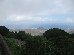Georgetown, Ascension Island - Image: Georgetown in the distance