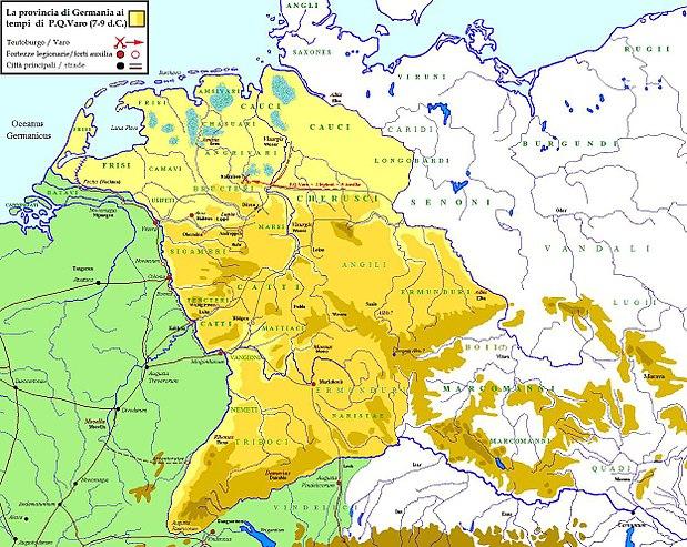 Cartina Elba Fiume.Germania Provincia Romana Wikiwand