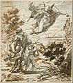Giovanni Battista Gaulli, called Baciccio - Mercury Leading Geography - Google Art Project.jpg