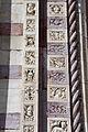 Giovanni di agostino (cerchia), portale laterale del duomo di grosseto 02.JPG