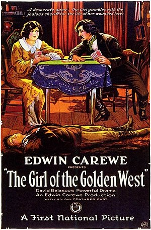 The Girl of the Golden West (1923 film) - film poster
