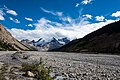 Glaciers in the distance - Icefields Parkway - ALberta Canada (29592110625).jpg