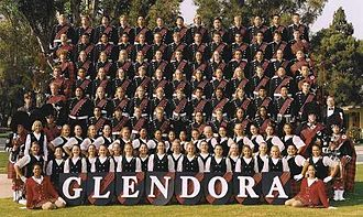Glendora High School - Image: Glendora High School Tartans 2013 10 05 23 22