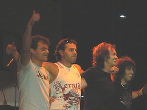 B.T.R. (band) - Some members of B.T.R. with special guest Glenn Hughes