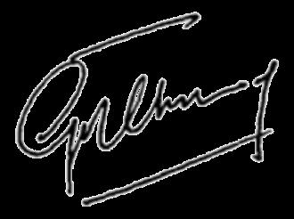 Goh Chok Tong - Image: Goh Chok Tong signature