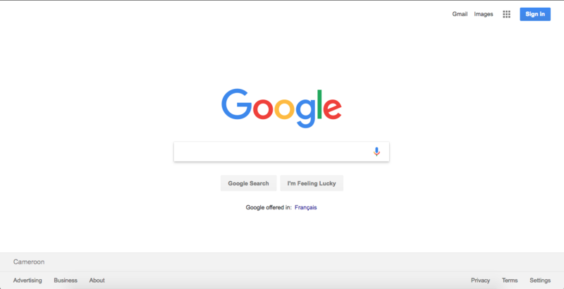 File:Google Chrome Interface Home Page.png