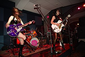 Gore Gore Girls garage rock band from Detroit,...