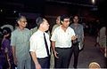 Goto and NCSM Dignitaries - Dinosaurs Alive Exhibition - Science City - Calcutta 1995-06-15 257.JPG