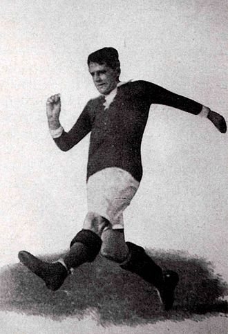 Football at the 1912 Summer Olympics - German player Gottfried Fuchs was the topscorer of the tournament.
