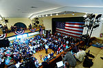 Governor of Florida Jeb Bush, Announcement Tour and Town Hall, Adams Opera House, Derry, New Hampshire by Michael Vadon 25.jpg