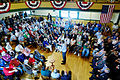 Governor of Florida Jeb Bush, Announcement Tour and Town Hall, Adams Opera House, Derry, New Hampshire by Michael Vadon 44.jpg