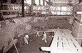 Gradnja temeljev za novo horizontalno stiskalnico v stiskalniškem obratu Impola 1960.jpg