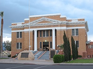 Graham County Courthouse in Safford