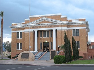 Graham County, Arizona - Image: Graham County Courthouse