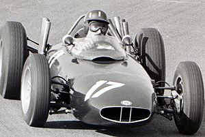 BRM P57 - Graham Hill at the 1963 Dutch Grand Prix.