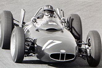 BRM P57 - Graham Hill at the 1963 Dutch Grand Prix.