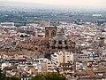 Granada, Catedral desde Alhambra.jpg