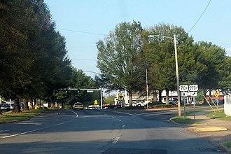 Special routes of U.S. Route 70 - Highway 270B departs Highway 70B in Hot Springs, AR