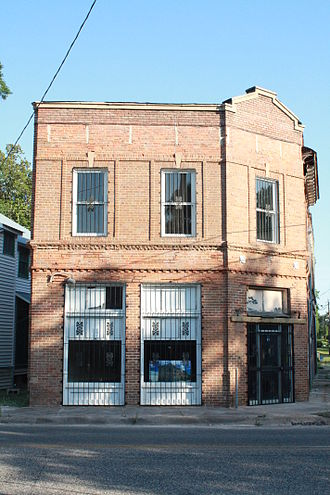 Grand Bay Historic District - Grand Bay State Bank building