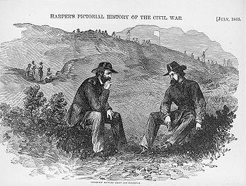 Grant and Pemberton - Harper's Pictorial History