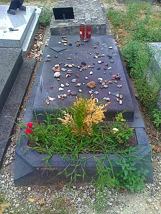 Paul Celan - The grave of Paul Celan at the Cimetière de Thiais near Paris