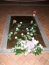 Grab Johann Sebastian Bachs in der Thomaskirche (Quelle: Wikimedia)