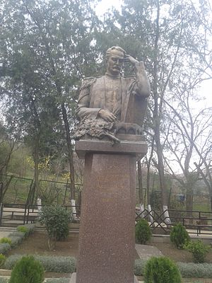 Mirza Fatali Akhundov - Grave monument of Akhundzade in Tbilisi