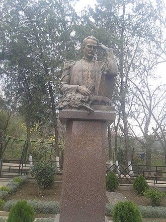 Mirza Fatali Akhundov - Grave monument of Akhundzade in Tbilisi