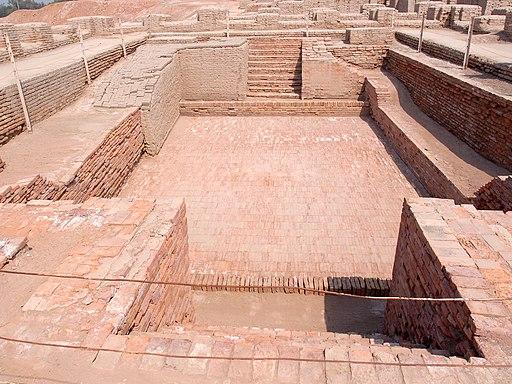 Great bath view Mohenjodaro