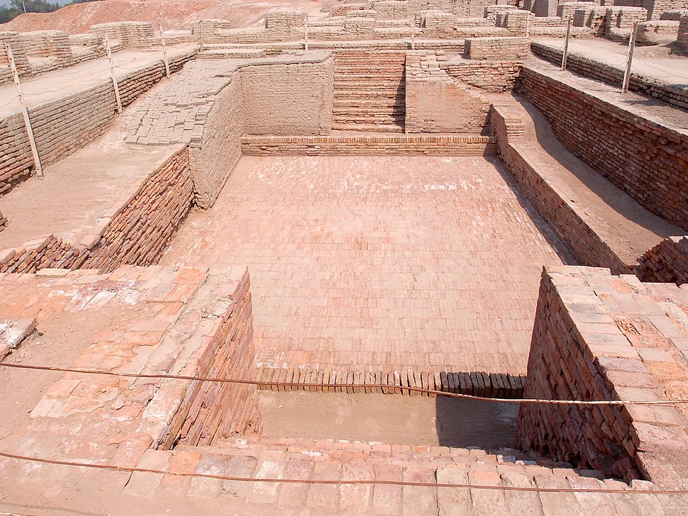 Great bath view Mohenjodaro