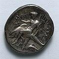 Greece, Tarentum, 4th century BC - Stater- Taras on Dolphin (reverse) - 1916.987.b - Cleveland Museum of Art.jpg