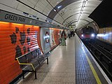 Jubilee line platform at Green Park station