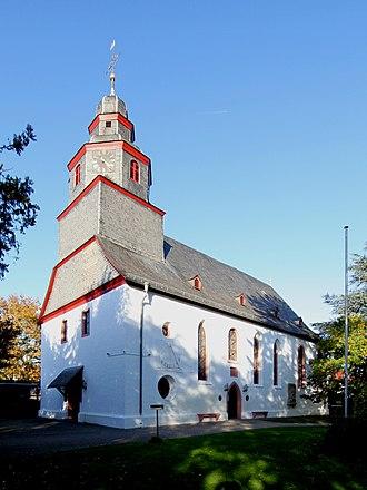 Griesheim, Hesse - Image: Griesheim Lutherkirche