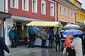 Grieskirchen Ortsbildmesse Wikimedia Infostand.jpg