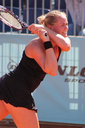Anna-Lena Grönefeld - Grönefeld at the 2014 Mutua Madrid Open