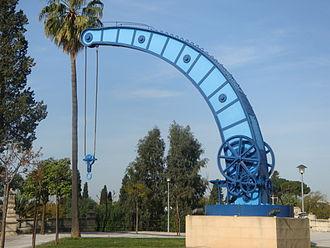 William Fairbairn & Sons - Fairbairn crane in Seville port