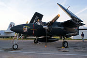 Grumman F7F-3P Tigercat Here Kitty Kitty BuNo 80390 NX700F LSideFront Dawn SNF 04April2014 (14585631642).jpg
