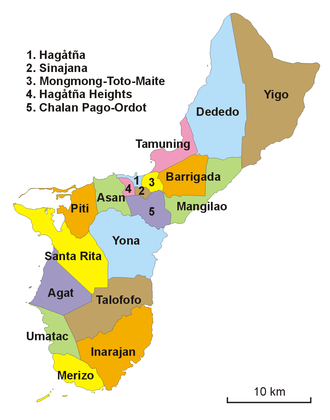 Guam-administracja
