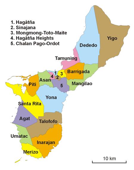 Муниципалитеты Гуама (2006)